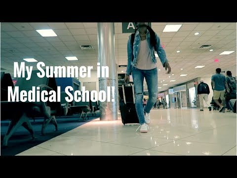 What do Medical Students do in the SUMMER!?   Medical School Vlog