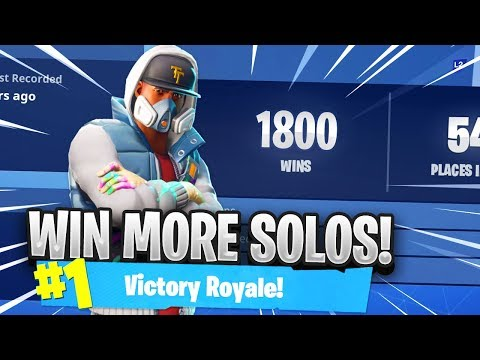HOW TO WIN MORE SOLOS in Fortnite..