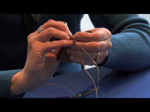 How to Make a Leather Pouch: Step-by-Step with Kathleen Coleclough (Métis) (Demonstration)