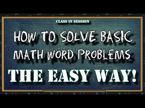 ASVAB Practice question - Math Word Problem THE EASY WAY!
