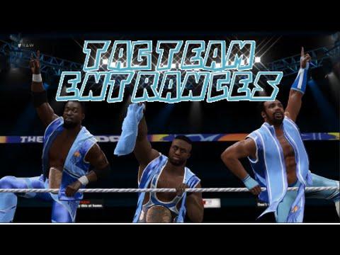 WWE 2K16 | All Tag Team Entrances - playithub com