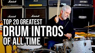 TOP 20 DRUM INTROS OF ALL TIME