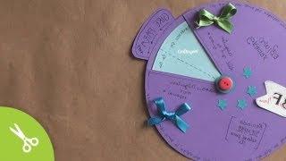 Más tips para hacer la tarjeta giratoria • http://bit.ly/1zYZKWb SUSCRIBETE http://bit.ly/PonteCrafty ▼ SIGUE LEYENDO ▼  -------------  ♦ INSTAGRAM http://instagram.com/craftingeek ♣ TWITTER http://www.twitter.com/craftingeek ♠ FACEBOOK http://bit.ly/craftingeek ♥ PINTEREST http://bit.ly/CGurlP  -------------  Aprende como hacer una tarjeta-carta giratoria que puedes regalar en cualquier ocasion: cumpleaños, mes de novios, dia del amigo, dia de los enamorados, dia de la madre, navidad o cuando se te ocurra! Incluso también puedes modificar el contenido y utilizarlo como invitación para tu boda, cumpleaños o XV.   Música:   Kevin Macleod | www.incompetech.com