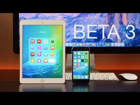 Apple iOS 9: Beta 3