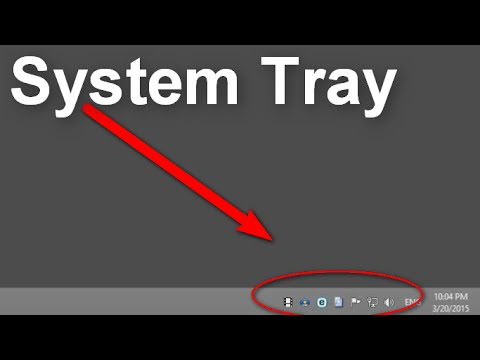 How to Hide or Show System Tray Icons (Windows 8.1)