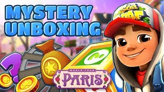 💰 Subway Surfers Mystery Unboxing - Opening Mystery Boxes in Paris (Valentine