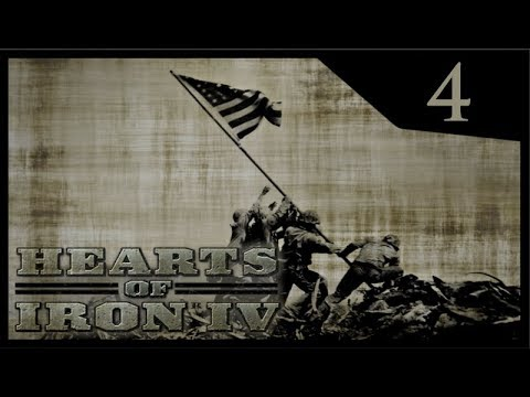Hearts of Iron IV Waking the Tiger - Interventionist USA #4 - Civil War