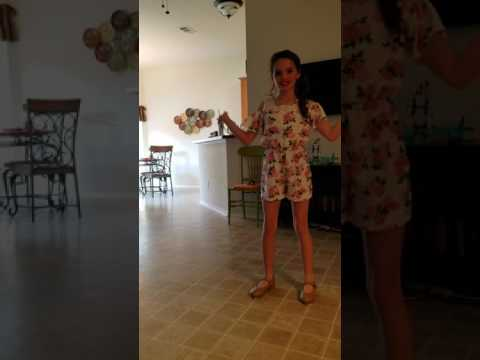 Scholarship dance Madison Mudd