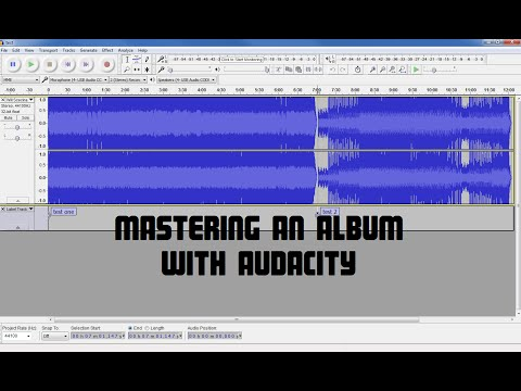 Audio Mastering an Album With Audacity | How To Make Your Songs Loud and Even (Remake)
