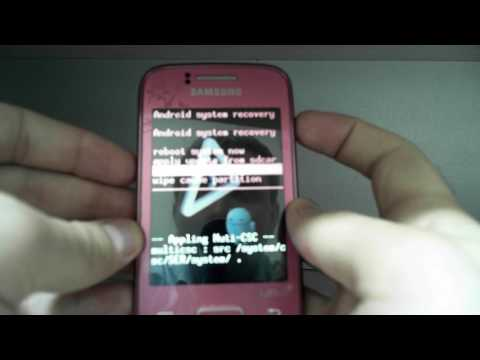 Hard Reset Samsung Galaxy Y Duos GT-S6102