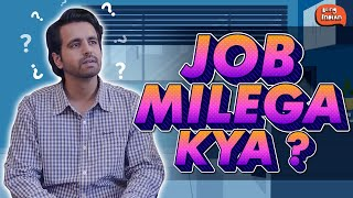 Thoughts You Have In A Job Interview | Ft. Nikhil Vijay | Being Indian