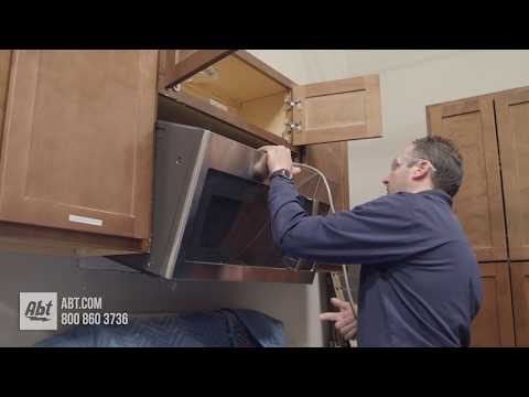 How To: Install A Microwave Over Your Range
