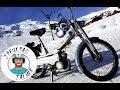 Hivernale Mobylette: de la neige et les potes !!!