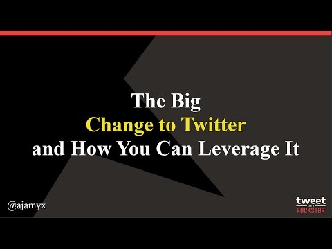 The Big Change To Twitter and How to Leverage It to Grow Your Business