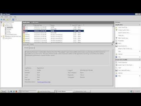 Microsoft Event Viewer Tutorial and Summary