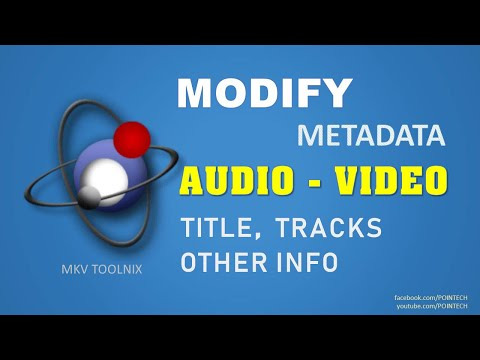 Change/Edit Audio Video Title/Subtitle/Metadata/Tracks 2017 | MKV Tool Nix Gui | PoinTecH