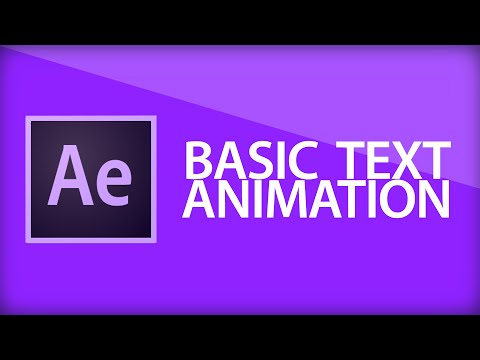 After Effects Tutorial   Text Animation and Range Selectors