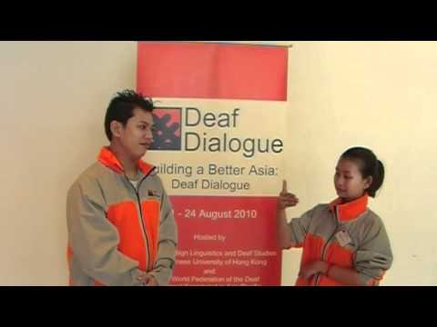 Deaf Dialogue interview Philippine and Cambodia