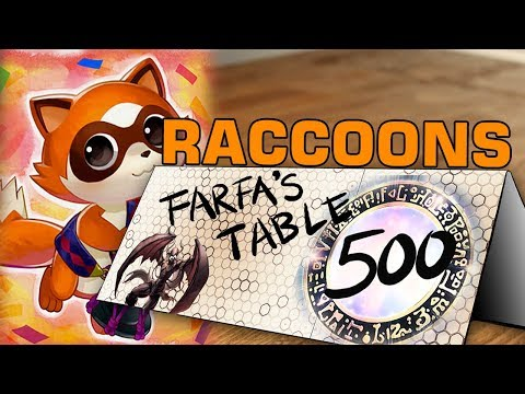 Table 500 #107 Baby Raccoons