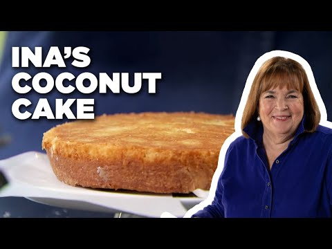 Ina's Coconut Cake   Food Network