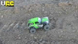 Traxxas Telluride At A Construction Site, New Tires, Raw - No Music Or Narration