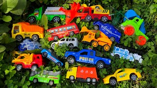 Looking for some mini size toy vehicles, Dump Truck, Police Van, Fire Truck, Excavators, Sports Car