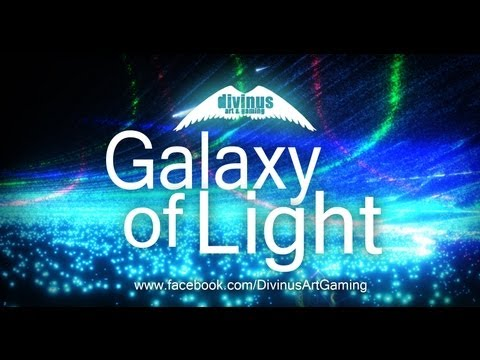 Inspirational - Galaxy of Light (Short video + famous quotes)
