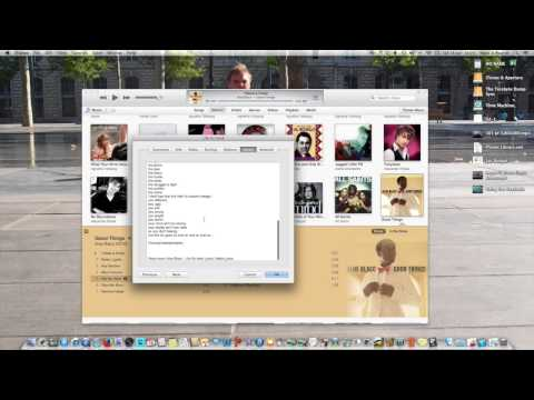 The Joys of Mac   How to include song lyrics in iTunes and iDevices