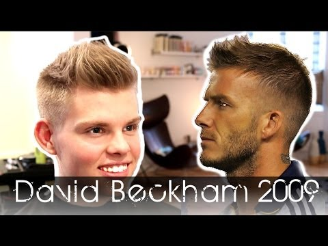 David Beckham 2009 Re-invention | How To Use By Vilain Silver Fox | Men's Hair Tutorial