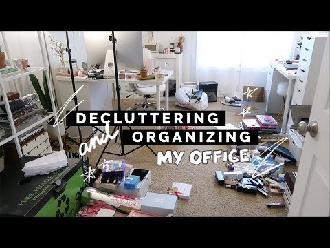 TIPS FOR DECLUTTERING/ORGANIZING YOUR SPACE | Spring Cleaning 2018