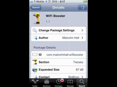 How To Boost Wifi Signal On iPhone / iPod / iPad