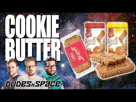 Butter Made From Cookies - Best Thing Ever - Biscoff Creamy and Crunchy - Dudes N Space