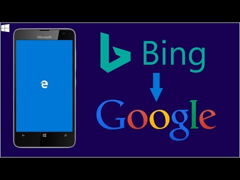 Changing the Default Search Engine in Microsoft Edge from Bing to Google