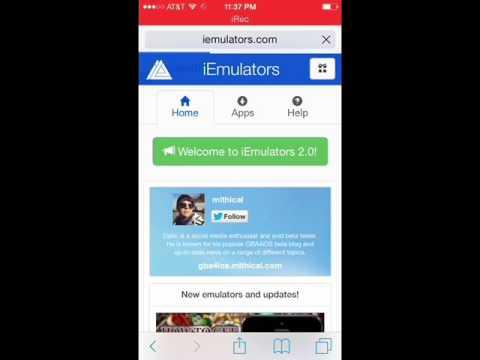 Snes (super nintendo) Emulator on IOS 8 and Iphone 6 NO jailbreak!!