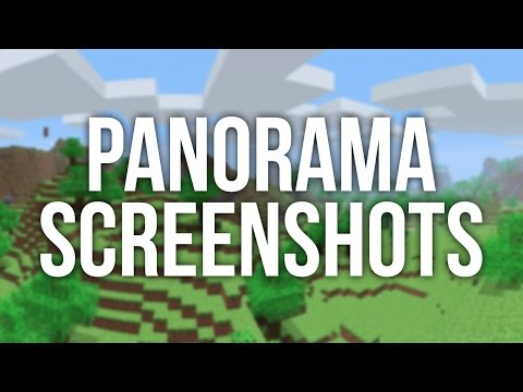 How to Take Panorama/ 360° Screenshots in Minecraft