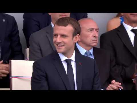 Military Band Plays Daft Punk Medley for Trump and Macron at Bastille Day Event