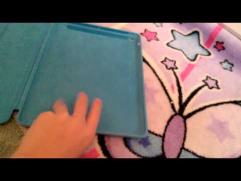 Unboxing ipad air smart case blue