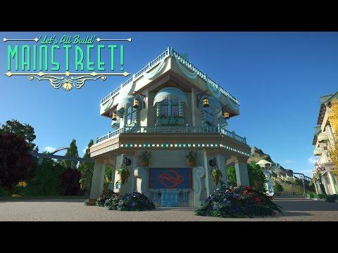 Planet Coaster - Merch Kiosk | Building Mainstreet! #6