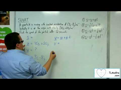 A-Level Maths 2017 Q3-17 SUVAT: 2D Example 4