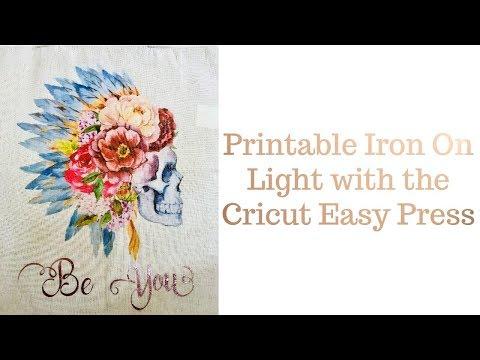 Printable Iron on Light - Cricut Easy Press