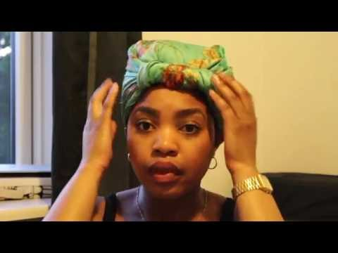 How I Tie My Headscarf for Bed!