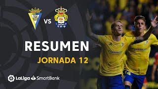 Resumen de Cádiz CF vs UD Las Palmas (2-0)