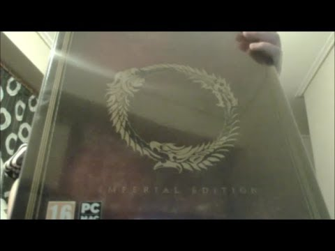 Unboxing - The Elder Scrolls Online ESO  Imperial Collector's Edition
