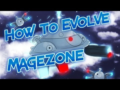 Pokemon Black and White 2 How to Evolve Magneton