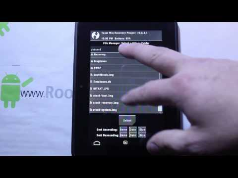 How to push files with ADB to your KIndle FIre HD when stuck in Recovery