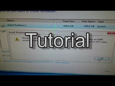 If Windows 7 Won't Reinstall, This Might Be Your Problem - Theje's Catalog