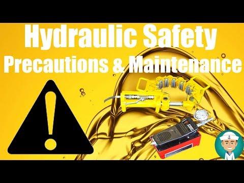 Hydraulic Safety Precautions and Hydraulic System Maintenance
