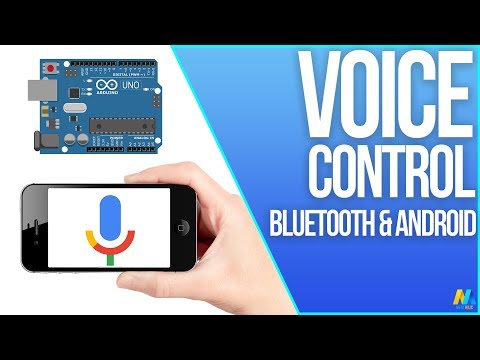 Arduino Tutorial - Arduino control with Android voice command (via Bluetooth)