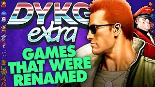 """Bionic Commando Original Called """"The Resurrection of H¡tler"""" - Did You Know Gaming? extra Feat. Greg"""