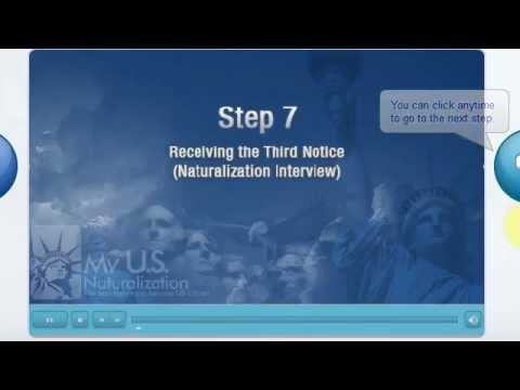 MY US NATURALIZATION Naturalization Process
